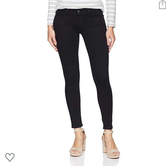 Levi's Denim - Levi Strauss Slimming Skinny Black Jeans 31